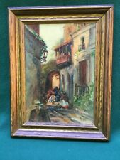 C. 1920 Vintage/Antique Impressionist Oil Painting Signed M. Michel