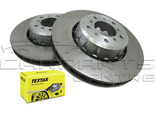FOR BMW E39 M5 SALOON 4.9 00-03 FRONT BRAKE DISCS 345mm AND TEXTAR BRAKE PADS