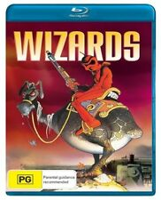 Wizards BLU-RAY disc DVD Brand New and Sealed Australia