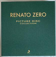 """RENATO ZERO - picture disc collection box 6 LP + 45"""" NUOVO PERFETTO !! NR. 152"""