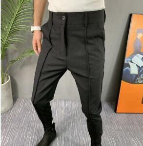 Special Men Boys Fit Slim l Casual Trousers Mid Waist Casua Pants Street Outdoor