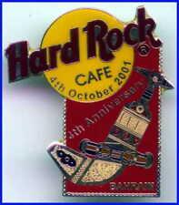 Hard Rock Cafe BAHRAIN 2001 4th Anniversary PIN Khanjar Dagger - HRC #577