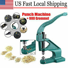 Hand Press Punch Machine for Press Studs, Eyelets/Grommet,Rivets,Snap Popper New