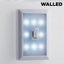 WAND-LEUCHTE LED mit Schalter  Kabellos  für BATTERIEN LED-Lampe