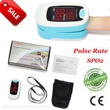 New Fingertip Pulse Oximeter Blood Oxygen Saturation Monitor SpO2 PR heart rate