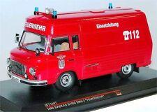 Ist Models IST169T, Barkas B1000 SMH-3 FEUERWEHR Salzwedel, 1984, 1/43, DDR