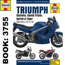Triumph Daytona Haynes Manual 1997-2005 Speed Triple Sprint Tiger 885cc 955cc
