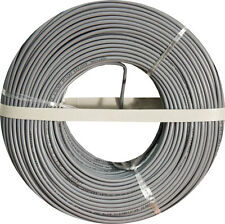 Burglar Alarm-Security Cable, 22/4 SOLID COPPER, UTP, 500FT GRAY, COIL PACK