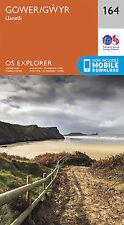 Gower Llanelli 164 Explorer Map Ordnance Survey With Digital Download