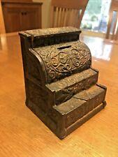 Vintage Cast Iron Cash Register Bank