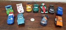 Disney Store Disney Pixar Cars PVC Figures Set Cake Toppers
