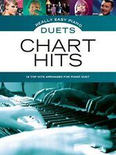 Realmente Fácil Piano dúos: Gráfico Hits - 16 Hit's dispuestos como fácil Piano dúos