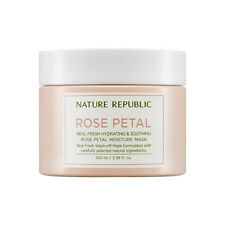 [Nature Republic] Real Fresh Rose Petal Moisture Mask 100ml