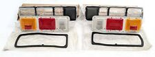 MAZDA 808 818 EARLY COMPLETE TAIL LIGHTS SET NEW OLD STOCK GENUINE SUIT RX3