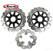 Fit Suzuki GSXR750 1996 - 2003 GSX-R 750 1998 1997 Front Rear Brake Disc Rotors