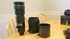 NIKON AF-S NIKKOR 200-400MM F/4G IF-ED VR ZOOM-NIKKOR,  SHARP LENS, AMAZING
