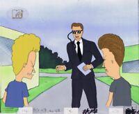BEAVIS & BUTTHEAD Animation Art MTV COA Original Production Cel Cell 1990s