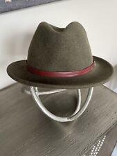 "Stetson Men's Felt All-Weather Hat M Crushable/ Washable 21"" Interior Headband"