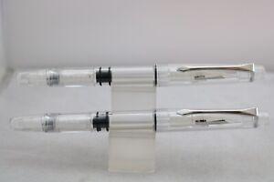 PenBBS No. 494 Demonstrator Fountain Pen, 2 Nib Grades, UK Seller