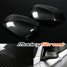 For 2014-2016 BMW F15 X5 QUALITY DRY CARBON FIBER SIDE WING MIRROR COVER TRIM