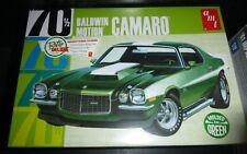 AMT 855 1970 BALDWIN MOTION 454 CAMARO GREEN 1/25 Model Car Mountain FS