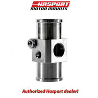 Hasport Hose Adapter for K-series swap with Fan Switch Port and Temp Sender Port