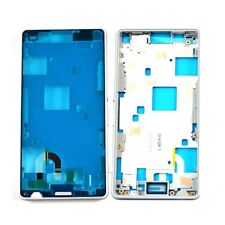 UK Replacement Sony Xperia Z3 Compact D5803 Middle Metal Frame Bezel Plate White