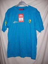 T-shirt Homme FERRARI Taille M Couleur bleu neuf avec étiquette