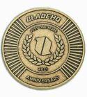 2021 Blade HQ Anniversary Exclusive Dessert Warrior Challenge Coin Limited RMO
