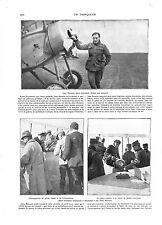 WWI Pilote As Avion Jean Navarre Crash Aviatik Luftstreitkräfte A ILLUSTRATION