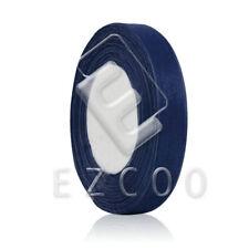 """50 Yards 1/4""""6mm Sheer Organza Ribbon Wedding Craft Hair Bows Lots Navy Blue HC"""