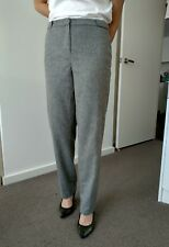 Bianca Spender wool mohair blend grey pants size 12