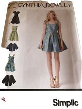 NEW  Cynthia Rowley DRESS  &  JACKET  Sewing Pattern  (65)