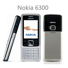 New Condition Silver NOKIA 6300 Unlocked Mobile Phone GSM Cheap Bar Phones