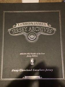RARE Lebron James signed jersey