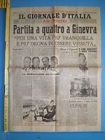17/07/1955 IL GIORNALE D'ITALIA (DELLA DOMENICA) Partita a quattro a Ginevra 266