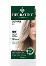 HERBATINT HERBAL NATURAL HAIR DYE SWEDISH BLONDE 10C 150ml - AMMONIA FREE