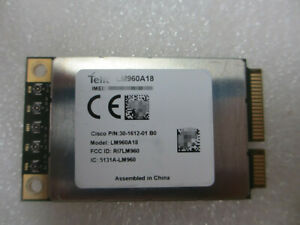 Unlocked Telit LM960 LM960A18 4G LTE Cat18 mPCIe Module with expedited shipping