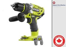 Ryobi P251 One+ 18V Lithium Ion 750 Inch Pound Brushless Hammer Drill Driver