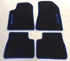 Autoteppich Fußmatten für Alfa Romeo Giulietta Schrift blau Seite 4teilg Neuware