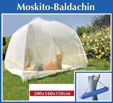 Moskitonetz-Zelt XXL für Betten, mit 3 Eingängen, 200x150cmx160