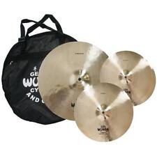 Wuhan WUTBSU Western Style Cymbal Set w/ FREE Cymbal Bag