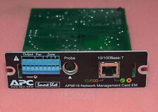 ORIGINAL APC AP9619 SMART-SLOT APC UPS NETWORK MANAGEMENT CARD