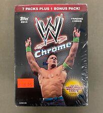 2014 TOPPS WWE CHROME BLASTER BOX