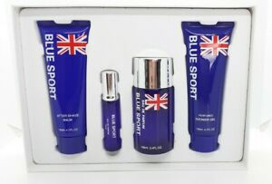Blue Sport Eau De Parfum For Men Set