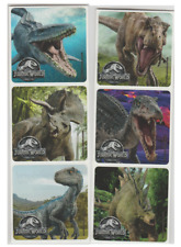 "25 Jurassic World Fallen Kingdom Stickers, 2.5"" x 2.5"" each, Party Favors"