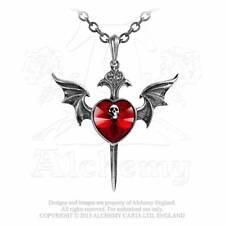 Alchemy Gothic Halskette Death Of A Vampire Gothic Schmuck