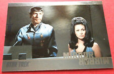 "STAR TREK TOS 50th Anniversary - MM48 ""MIRROR, MIRROR"" (uncut) - Foil Chase Card"