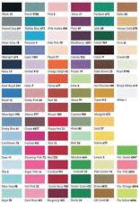 50mm X 2 metros Faja Cinturón Berisfords cinta de raso nupcial-ver tabla de Color