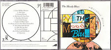 CD THE MOODY BLUES GREATEST HITS 12 TITRES BEST OF 1989
